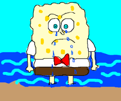 spongebob tear sweater spongebob made you a sweater out of his tears