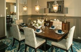 the langdon dining room with wainscoting indianapolis in