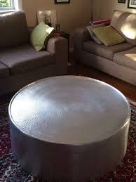silver drum coffee table silver drum coffee table home furniture furniture tables