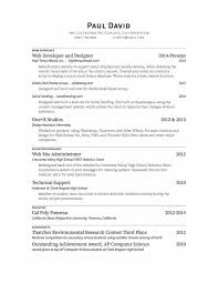 About Myself Resume Paul J David About Me