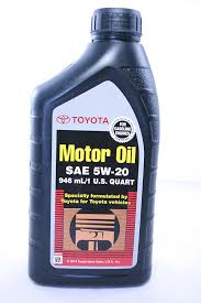 Amazon Com Toyota Genuine Sae 5w 20 946 Ml Motor Oil 1 Quart