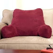 bed chair pillow walmart armchair pillows for backrest view 1 bath