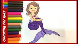 coloring sheets kids color sofia