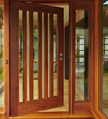 wooden doors and windows designs wood door with glass window