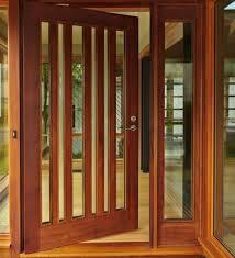 Model Home Decorations Wooden Doors And Windows Designs Wood Door With Glass Window