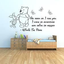 Winnie The Pooh Wall Decals For Nursery Winnie The Pooh Wall Decorations Winnie Pooh Wall Decals Nursery