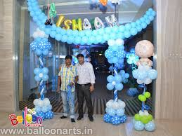 Balloon Decoration For Baby Shower Name Ceremony Balloon Decoration Balloon Arts