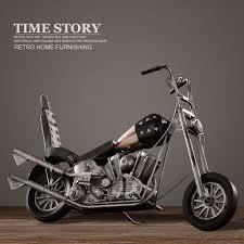 vintage motorcycle model retro iron motorbike model handmade