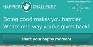 Challenge Huffington Post Happier And The Huffington Post Challenge You To Give Back Take