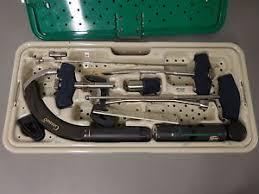 stryker 1320 6000 gamma 3 complete tray basic hip set orthopedic
