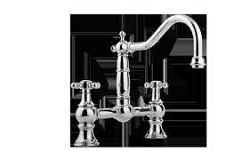 Graff Kitchen Faucet by Faucet Stop Bridge Kitchen Faucet W Side Spray G 4845 Lm15 Ob