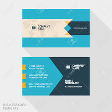 vector design modern creative and clean business card template