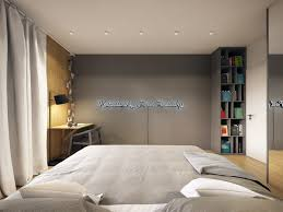 Simple Bed Designs by Minimalist And Simple Bedroom Design With Gray Shades Roohome