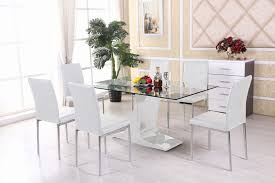 round glass table for 6 round glass dining table for 6 luxury top seater dubai tables