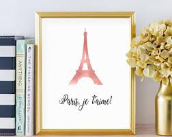 Paris Inspired Bedroom by Paris Bedroom Decor Etsy