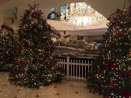 beautifully decorated christmas homes many beautifully decorated christmas trees picture of belmond