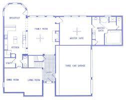 ranch house plans with basement 3 car garage basement decoration