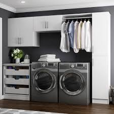 white laundry room cabinets home design styles