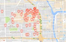 Chicago Hotels Map by Mapping The West Loop U0027s Development Boom Preview Chicago