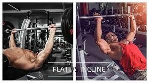 Incline Bench Technique Chest Day 101 Incline Vs Flat Bench My Fit Regimen