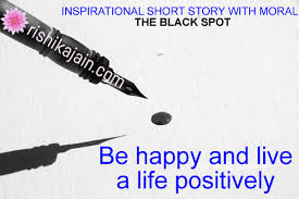 inspirational story with moral the black spot