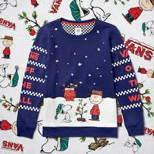 peanuts christmas t shirt stay warm with the vans x peanuts christmas collection the drop date