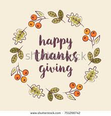 happy thanksgiving day card design stock vector 162397877