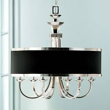 Drum Shade Chandelier Lighting Uttermost Tuxedo Collection 28