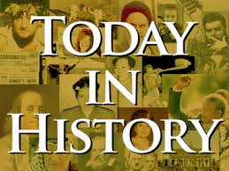 on this day in history today in history for april 6th