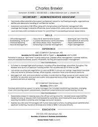 functional resume sle secretary secretary resume sle monster com accou sevte