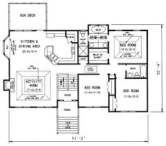 1970s split level house plans plan 26040sd 1200 sqft 3 bedroom