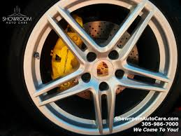 lexus of kendall pinecrest fl calipers brake caliper painting service red calipers yellow