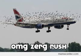 Zerg Rush Meme - omg zerg rush by ben meme center