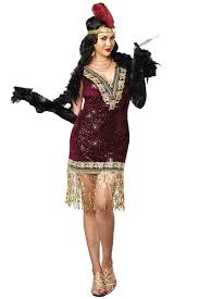 Figured Halloween Costumes 1920s Flapper Dress Figured Women Masquerade Express