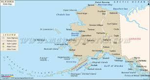 map of alaska cities alaska map with cities this alaska map shows alaska s location