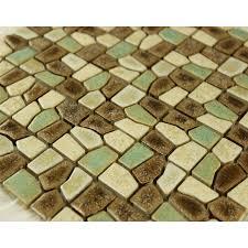 Mosaic Tile Kitchen Backsplash Pebble Mosaic Ceramic Tiles - Pebble backsplash