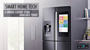 smart items for home smart home tech 6 unique luxury items available today the