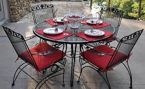 table patio set makeover beautiful cast iron patio table how to