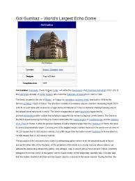 gol gumbaz bijapur karnataka india dome buildings and