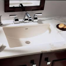 top notch black wooden bath vanity and white wooden counter top