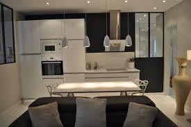 sejour ouvert sur cuisine idee cuisine ouverte sejour maison design bahbe com