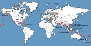 Bulgaria On World Map by World Trip Map Tb U0026 J Travel
