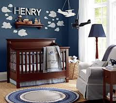 Baby Nursery Decor Planes Flying Sky Boat Themes For Baby Boy