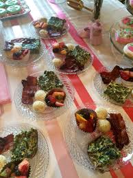 a beautiful shower for baby bacon recipe 360 family nutrition
