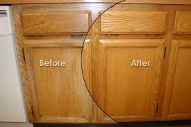 kitchen cabinets staining price before and after photos painted cabinets staining cabinets