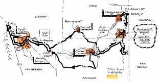Map Of Death Valley Desert1