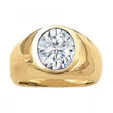 Wedding Rings Men by 2 Carat Men U0027s Wedding Ring Forever One Moissanite Solitaire Bezel