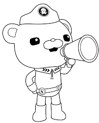 Octonauts 6 Cartoons Printable Coloring Pages Octonauts Coloring Pages