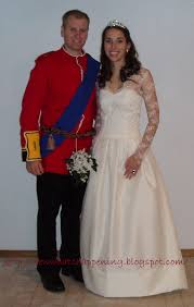 Wedding Dress Halloween Costumes by Sew What U0027s Happening Halloween 2011 William U0026 Kate Costumes