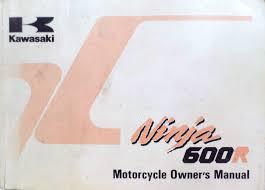 kawasaki ninja 600 r zx 600 c9 owner u0027s manual u2022 cad 18 70